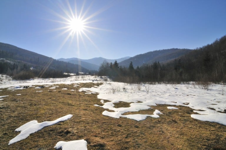 Sunny heat in Carpathian Mountains, winter landscapes series. See more nature >>> [url=http://www.istockphoto.com/file_search.php?action=file&lightboxID=5231092] [img]http://img241.imageshack.us/img241/8523/naturecopycq5.jpg[/img][/url]
