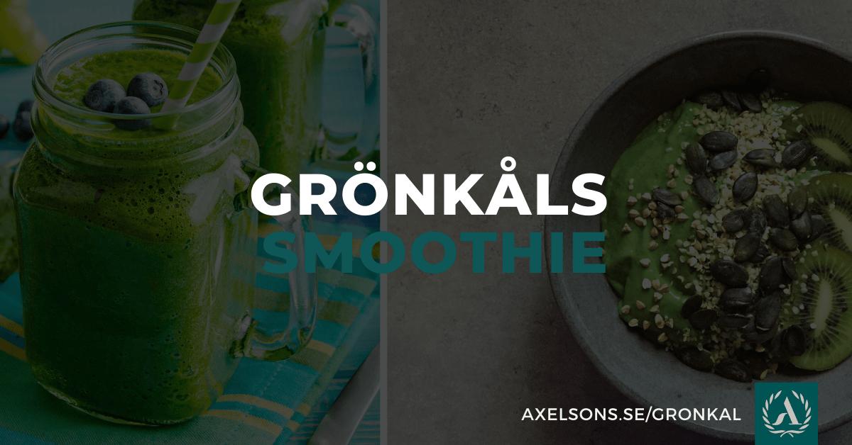 Grönkåls smoothie - Grönkåls Bowl