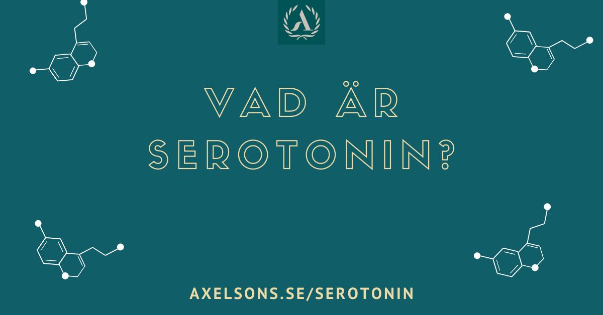 Vad är serotonin (serotinin, seratonin, seretonin)
