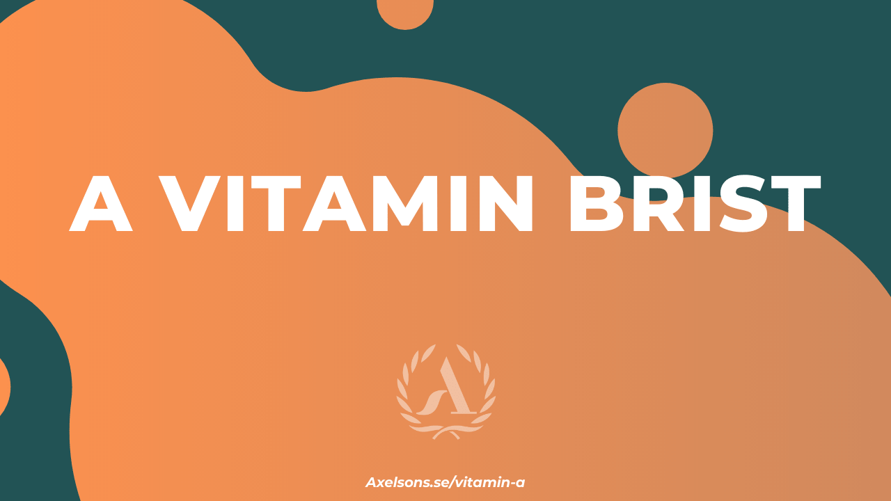 A vitamin brist