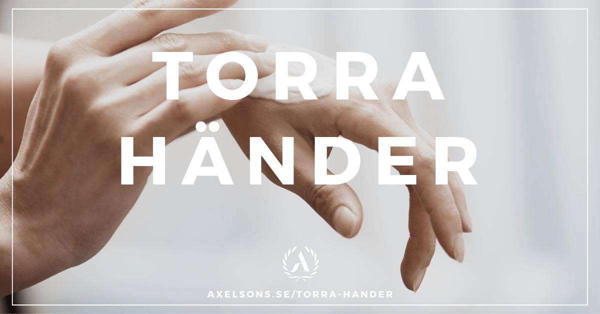 Extremt torra händer - Huskur, självsprickor - Axelsons.se