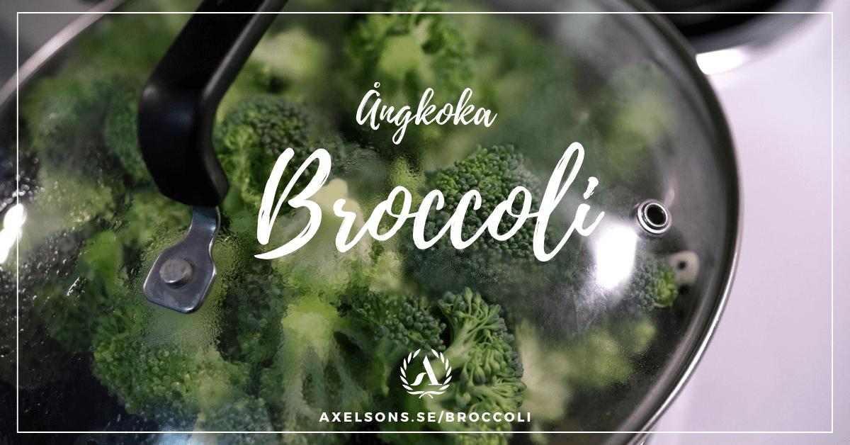 Ångkoka broccoli - ångkoka fryst broccoli