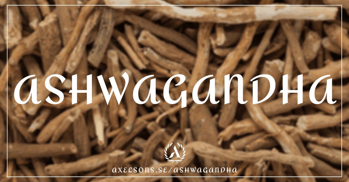 Ashwagandha Axelsons ashwaganda