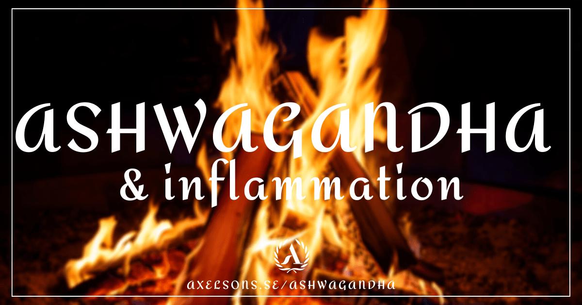 Ashwagandha inflammation