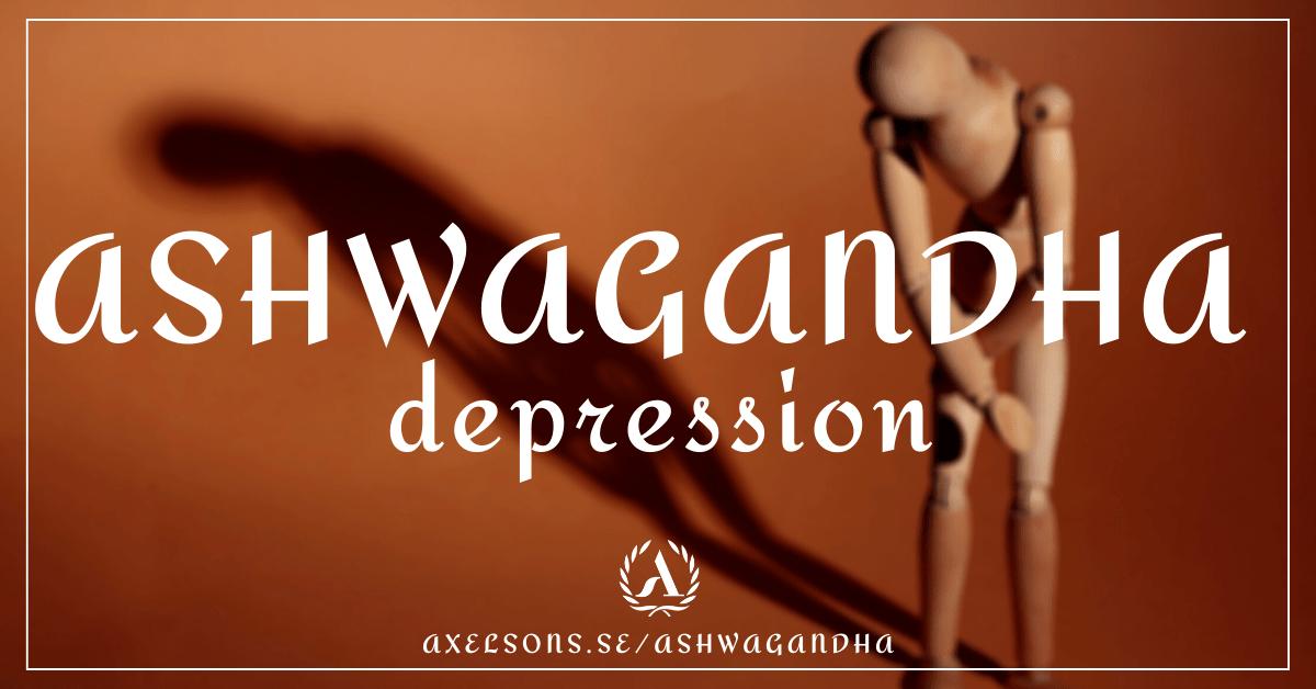 Ashwagandha depression