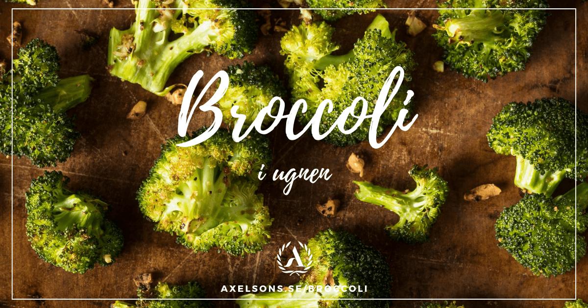 Broccoli i ugn