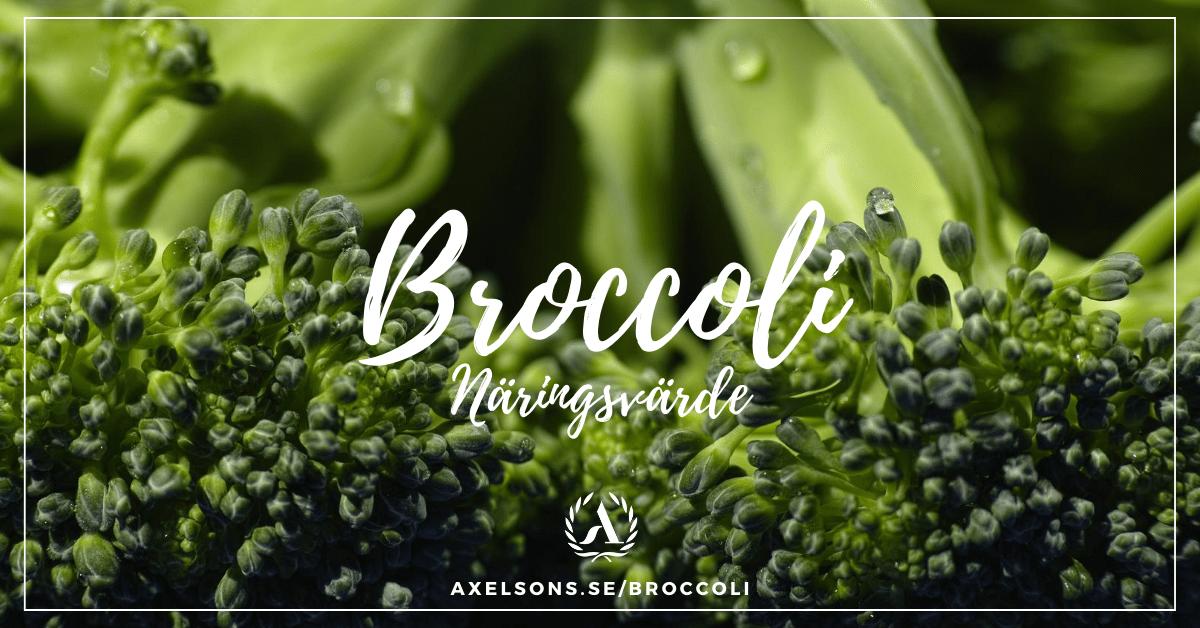 Broccoli näringsvärde