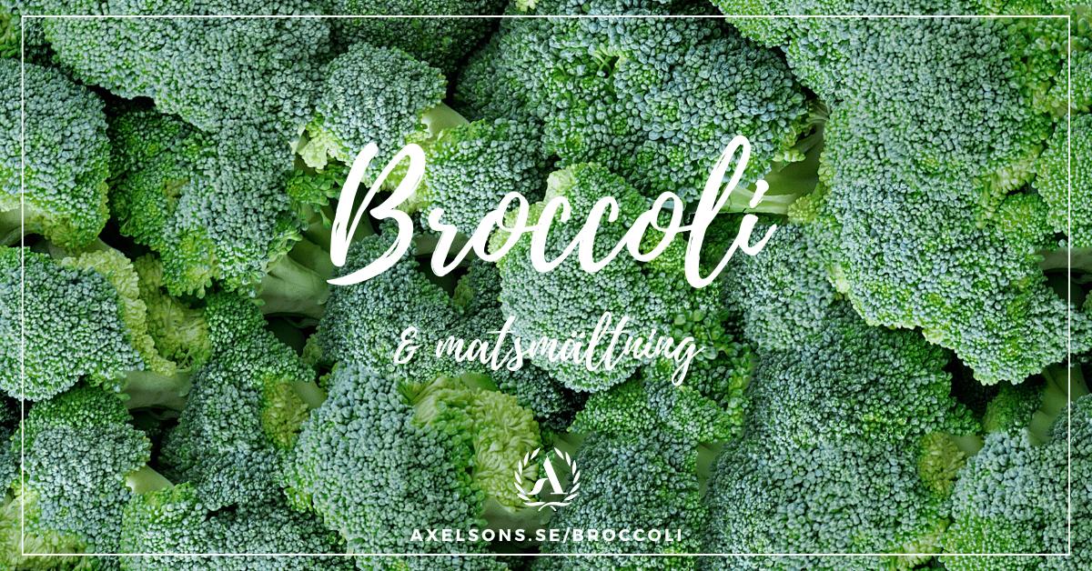 Broccoli och matsmältning