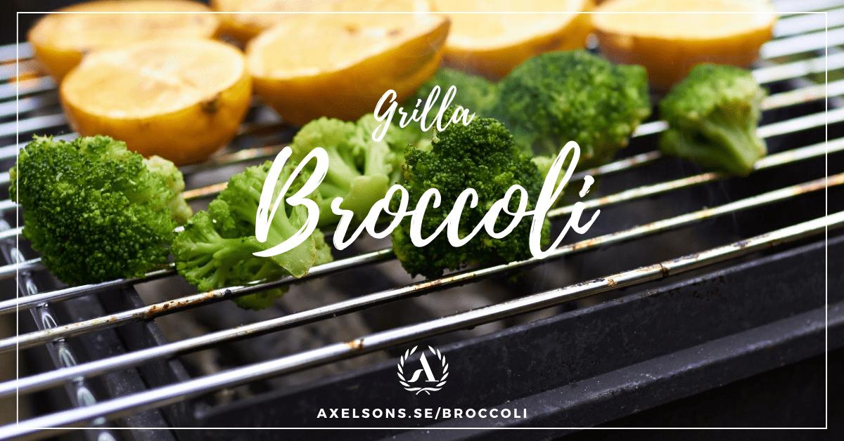 Grilla broccoli i folie