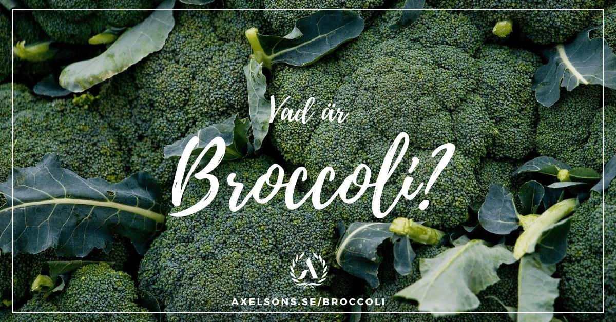 Vad är och hur växer broccoli