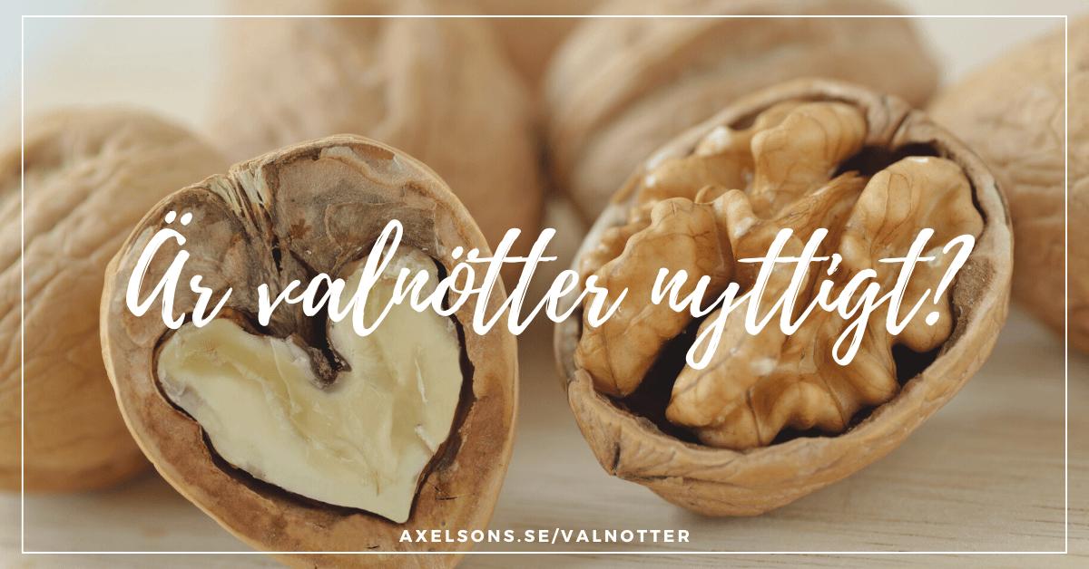 Är valnötter nyttigt