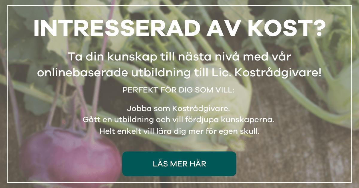 Axelsons Utbildning Kostrådgivare Online - Kålrabbi