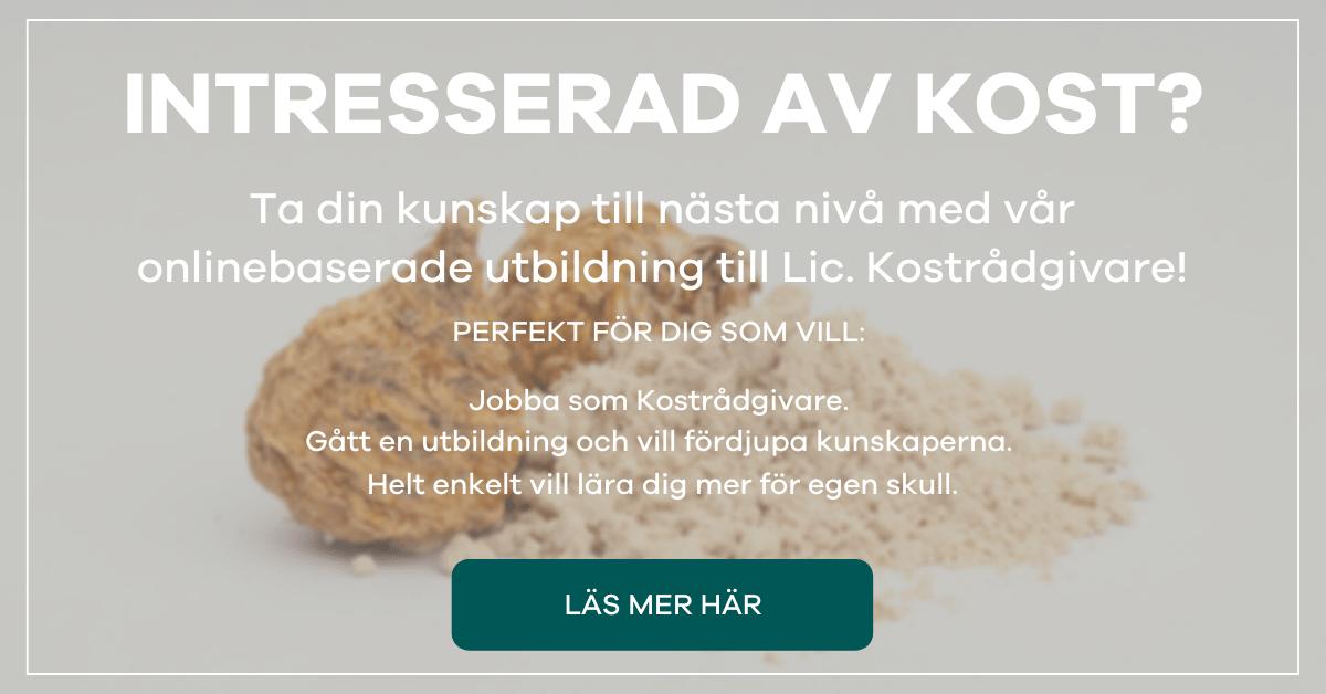 Axelsons Utbildning Kostrådgivare Online - Maca