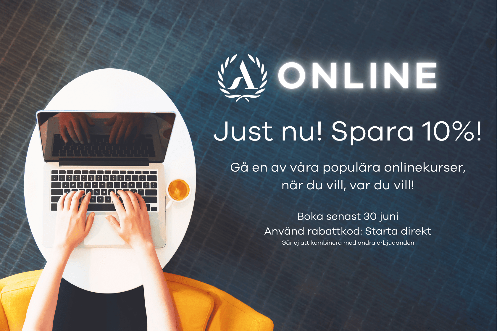 Onlinekurser early bird 10%